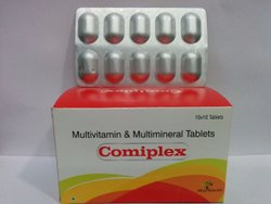 Multivitamin And Antioxidant Tablet