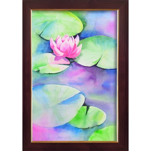 Glossy Laminated Acrylic Canvas Painting, Size: 20 X 30 Inches