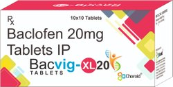 Baclofen 20 Mg Extended Release Tablets (Bacvig-Xl 20)