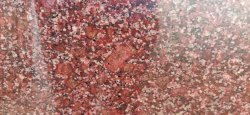 Solid Laxmi Red Polished Granite Slab, For Flooring, Countertops, Thickness: 20 mm