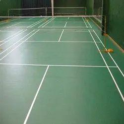 Matte PVC Sports Flooring