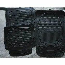 Black Rubber Car Mat