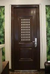 Brown Standard Window Door, For Home,office, Single