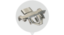 Bruckner Stenter Clip With Assembly
