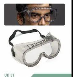 Generic Polycarbonate Chemical Splash Goggle, Frame Type: Elastic Band, En 166