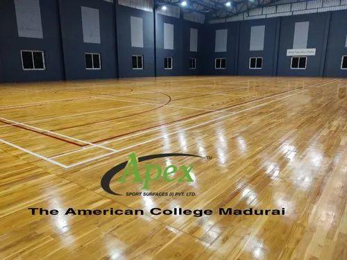 Labo Sports Test Certify Wooden Sports Flooring