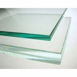 Float Clear Toughened Glass, Shape: Flat