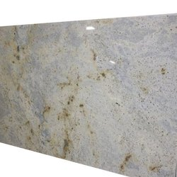 Ivory Polished Granite Slab, For Flooring, Thickness: 20 mm