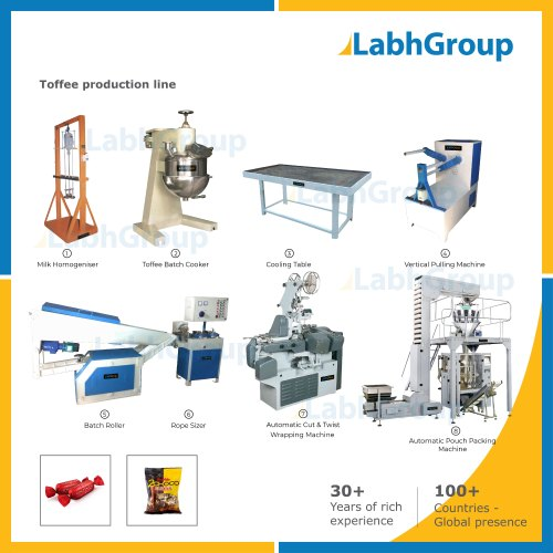 Toffee Making Machine Production Line