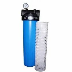 Plastic Dust Filteration Bag Filter For RO Parts, For Water Filtration, Automation Grade: Fully Automatic