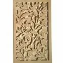 Rose Jaali 3D  Stone Carving
