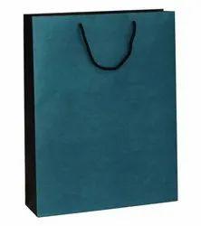 棕色牛皮纸青色黑色设计打印纸与绳子处理,为购物