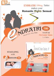 ENDRATRI-100 Tablet Sildenafil Citrate 100mg