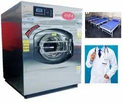 AURA Hospital Laundry Machine, 2 Kw, Front Loading