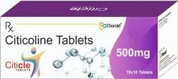 CITICOLINE 500 MG TABLETS (CITICLE 500)
