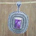 Handmade 925 Sterling Silver Jewelry Turquoise Gemstone Pendant Wp-5680