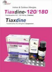 Tiaxdine-180 Tablet Fexofenadine 180mg