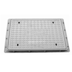 18x26 Inch Medium Duty Grey Iron Manhole Cover