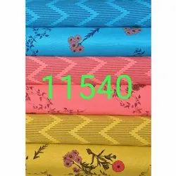 58 inch Floral Printed Rayon Dress Fabric