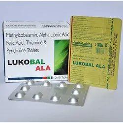 Methylcobalamin Alpha Lipoic Acid Folic Acid Thiamine And Pyridoxine Tablets