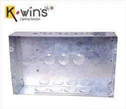 Square 18 Way GI Modular Electrical Metal Box