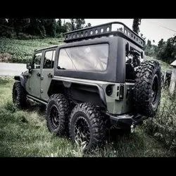Wrangler SIx Wheeler Modified Jeep