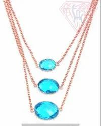 Jewelry Bezel Necklace