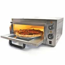 Electric Pizza Oven Stone Base Single Deck