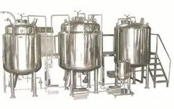 Automatic Liquid Syrup Processing Plant, For Industrial, Capacity: 250 Lph