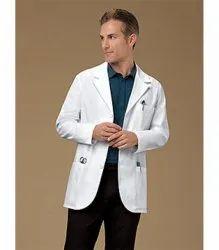 Mens White Doctor Coat