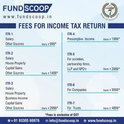 Online Tax Filing Service, Company, Pan And Aadhar Card