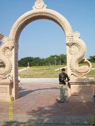 Marble Temple Gate