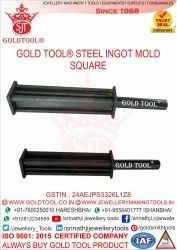 Gold Tool Steel Ingot Molds Square