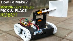 Moter 12 Dc Robotic Projets MOTION CONTROLLED ROBOT, For Robotic Arm