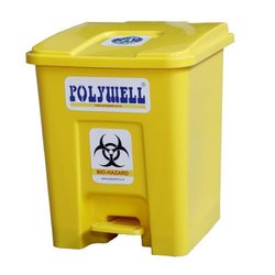 Polywell Bio-Hazard 10L Pedal Dustbin