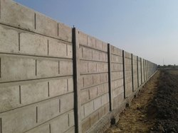 Grey Rcc Boundary Wall