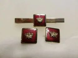 Tie Clip and cufflinks customise