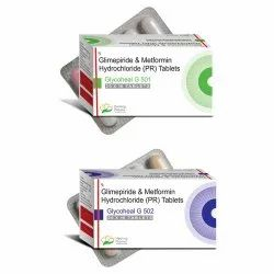 Glimepiride 1mg - Metformin 500mg Double Layer / Glimepiride 2mg - Metformin 500mg  Double Layer