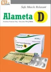 Metaxalone 400mg   Diclofenac Potassium 50mg