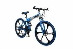 Blue Silver Bmw X6 Foldable Cycle