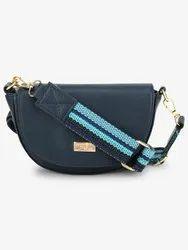 Blue Sling Bags