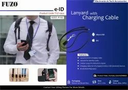 Lanyard With Charging Cable: Fuzo E-Id