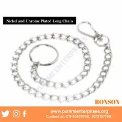 Nickel and Chrome Plated Long Chains