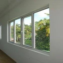Hinged Aluminium(Frame) Aluminium Sound Reducing Window, For Noise Barriers