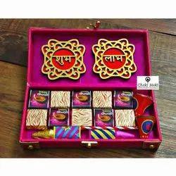 Rectangular Diwali Chocolate Gift