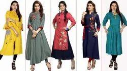 Cotton Designer Ladies Kurti