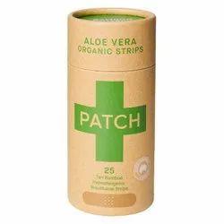 Aloe Vera Bamboo Bandages - Tube of 25