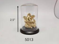 Divine Golden Lord Ganesha, Gold God Statue