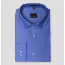 Boros Cotton Indigo Blue Classic Fit, Machine wash, Size: Xs-xl
