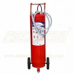 Fire Extinguisher DCP Type 75 Kg Outside Co2 Bottle.